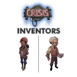 CRISIS: Inventors characters