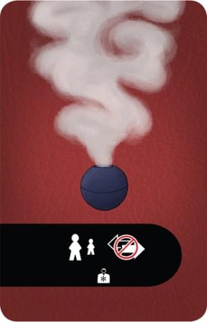 [redacted] Smoke Bomb