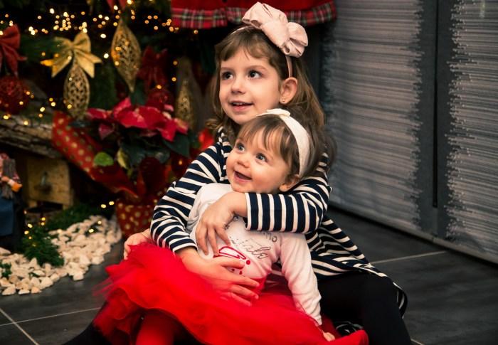 Séance de Noël en famille