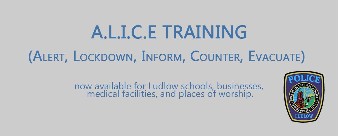 A.L.I.C.E. Training