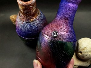 """Video Tutorial: How to make """"Raku"""" Style Vase totally from polymer clay"""