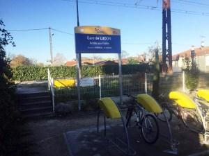gare ludon acces train - Transports