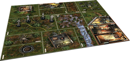 Componenetes de Call of Wild expansión para las mansiones de la locura