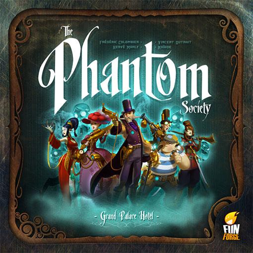 Caja de The Phantom Society de Funforge