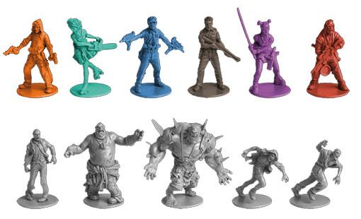 Miniaturas de zombicide