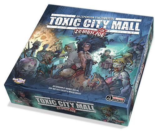 Expansión de Zombicide Toxic City mall