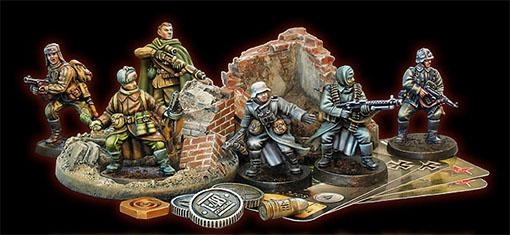 Miniaturas del juego 1-48Combat