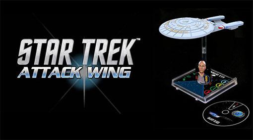 Logo del juego Star Trek Attack Wing