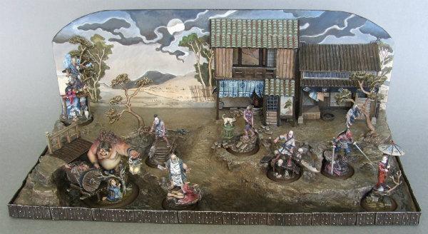 Diorama ganador del premio de Bushido