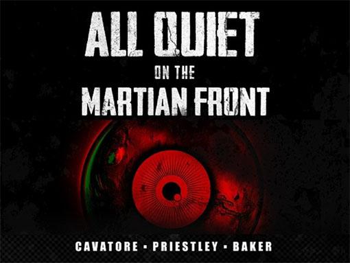 Portada de All Quiet on the martian front