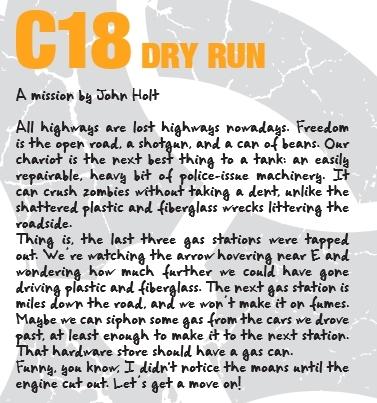 Escenario C18 Zombicide