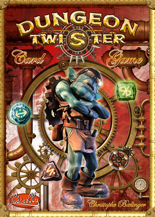 Portada de Dungeon Twister the Card game