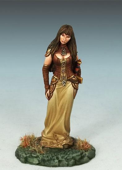female rogue de dark sword Miniatures