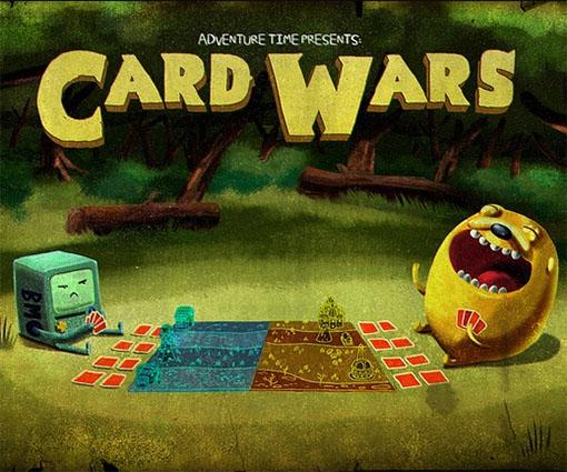 Imagen promocional de card wars