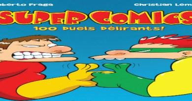 Super Comics juego de cartas