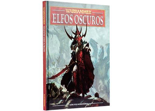 Portada del libro de ejercito de los elfos oscuros