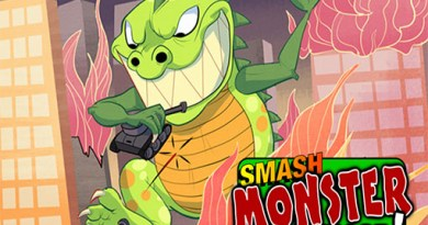 Caratula de Smash Monster rampage