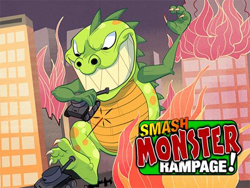 Caratula de Smash Monster rampage