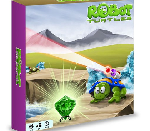 caja de robot turtles
