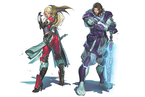 Concept art de Fleeting alliance de infinity