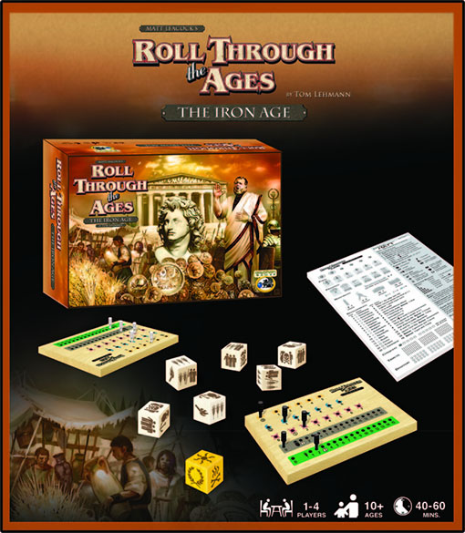 Componentes de Roll through the ages