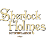 Logotipo Sherlock Holmes Detective Asesor