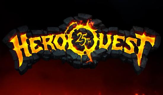 Logotipo de Hero Quest 25 aniversario