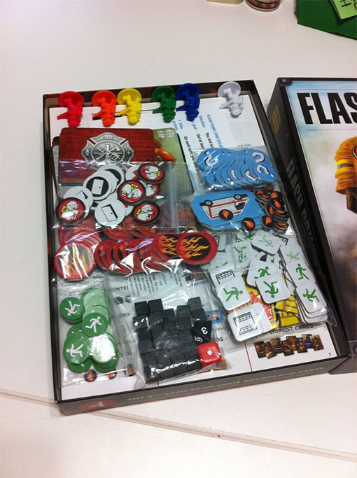 Componentes de Flash point