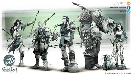 Gremio de los pescadores de Guild ball