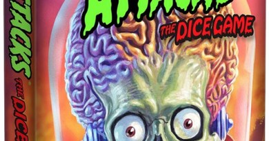 Portada de Mars Attacks the dice game