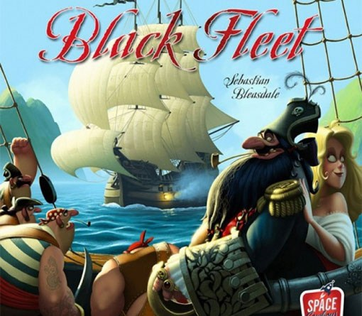 Portada de Black Fleet