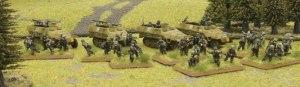 Panzergrenadier Platoon, miniaturas