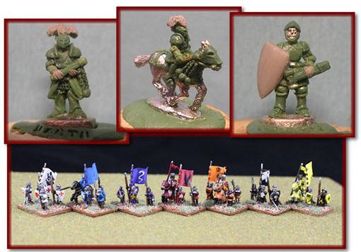 Miniaturas de ejercitos de war of kings
