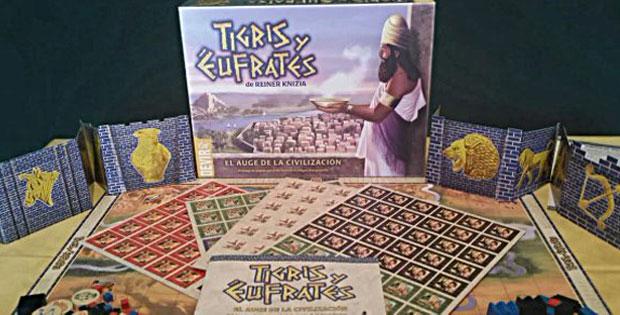 Juego Tigris y Éfrates de Devir