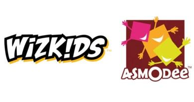 Logotipos de Wizkids y Asmodee