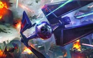X-Wing, art