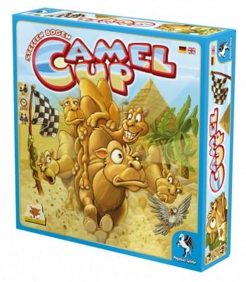 Caja del juego de mesa Camel Up