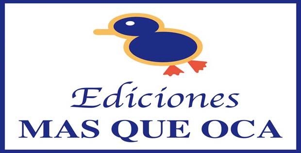 Logotipo de Ediciones MasQueOca