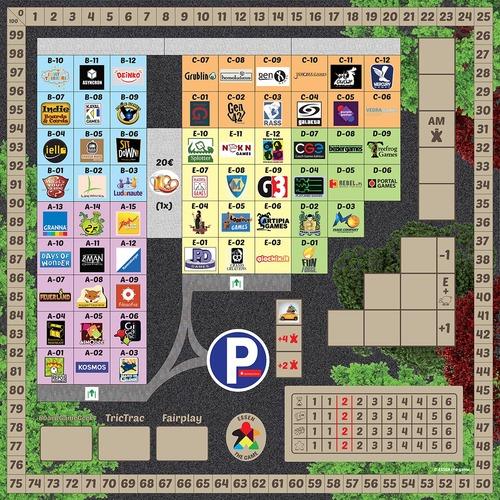 tablero de Essen the game spiel 13