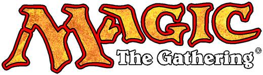Logo de Magic the gatering marca de wizards of the coast