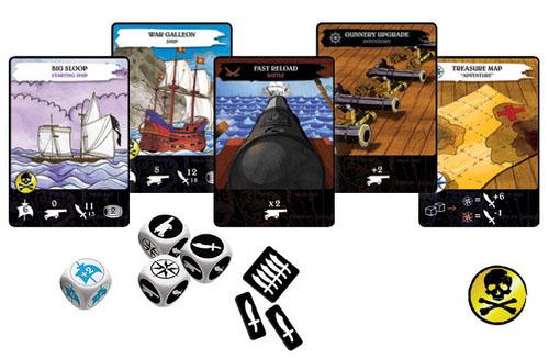 componentes de pirates