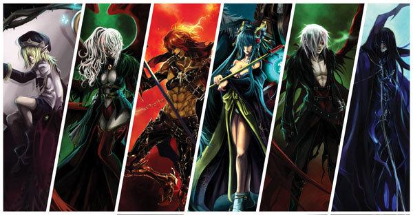 Akuma, personajes