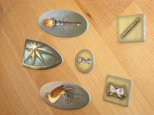 Objetos magicos de las leyendas de Andor el escudo de las estrellas