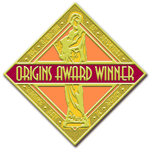 Sello de los ganadores del Origins Award