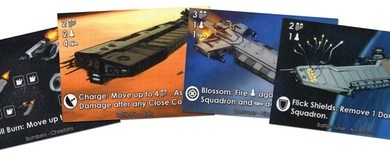 cartas del prototipo de sol rising