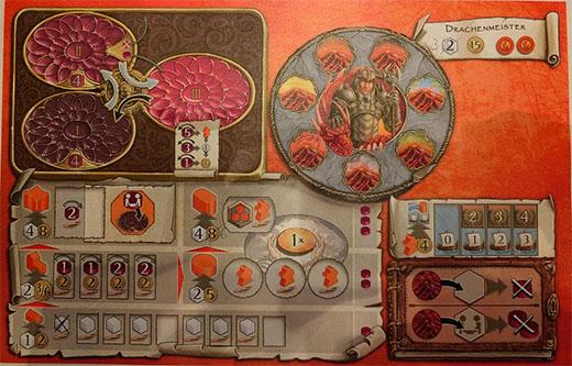 Terra Mystica Feuer and Fis jinetes del dragon