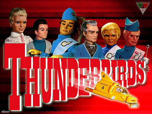Cartel de la serie Thunderbirds