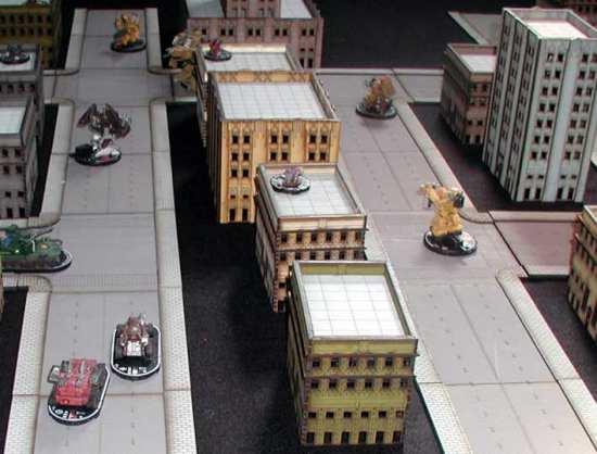 Dropzone Commander, edificios Sally 4th