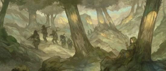 El Anillo Único, Rivendell arte