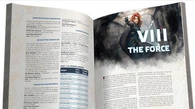 Star Wars, Force and Destiny página interior